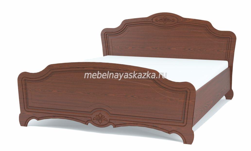 """Кровать """"Лотос"""" орех"""