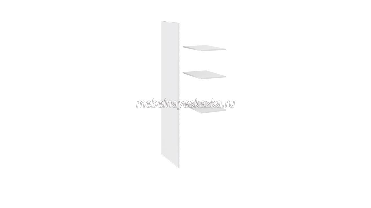 Шкаф 2х-створчатый «Наоми» Белый глянец