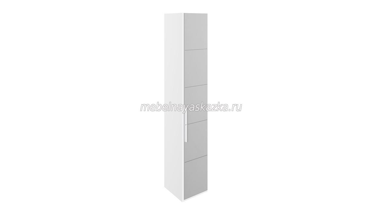 Шкаф торцевой «Наоми» Белый глянец