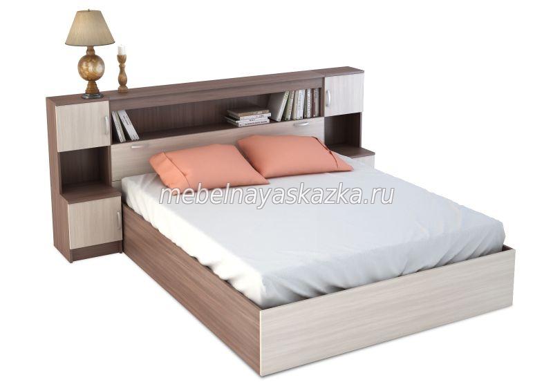 """Кровать """"Бася с закроватным модулем"""" КР-552"""