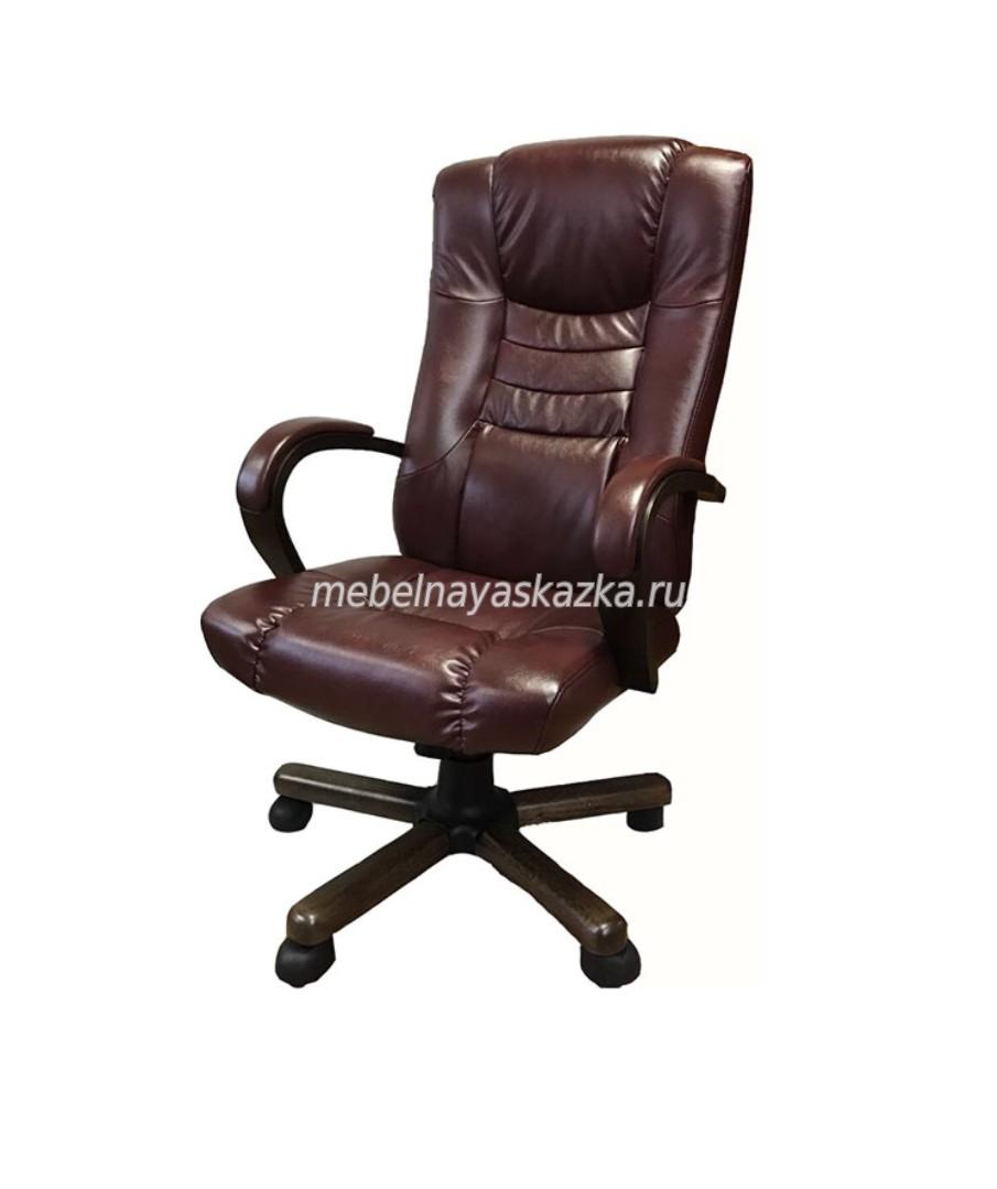 """Офисное кресло """"Сенатор У-21"""" натуральная кожа"""
