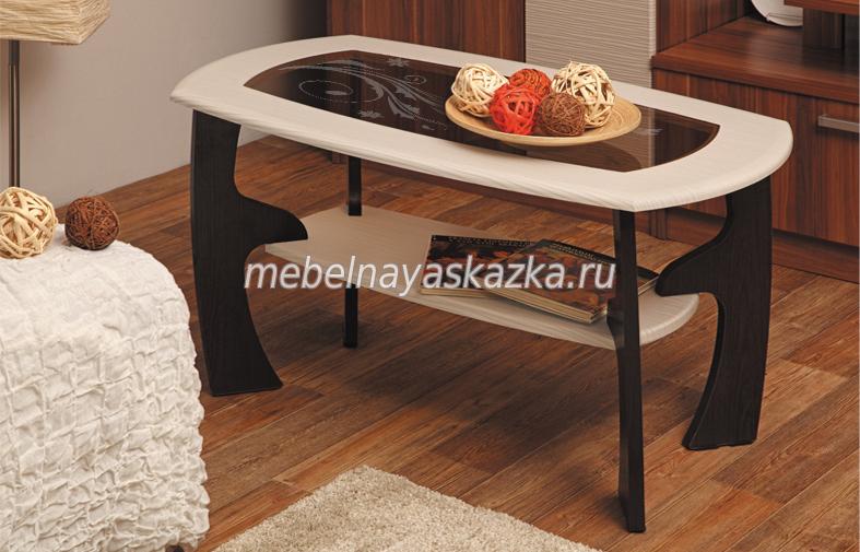 """Журнальный столик """"Маджеста-3"""" с рисунком"""