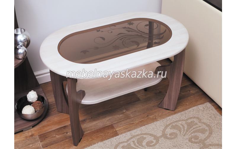 """Журнальный столик """"Маджеста-2"""" с рисунком"""
