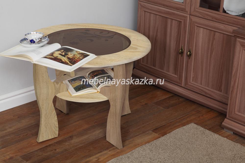 """Журнальный столик """"Маджеста-6"""" с рисунком"""