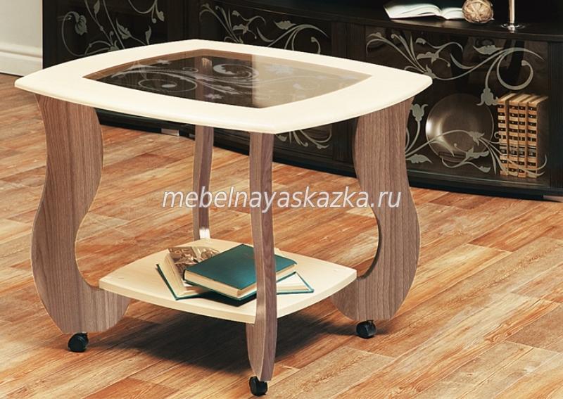 """Журнальный столик """"Сатурн-М01"""" с рисунком"""